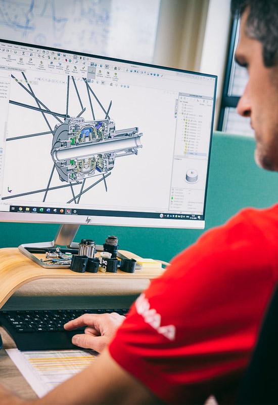 Gravaa Engineer at work